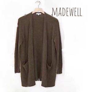 Madewell Ryder Cardigan Open Front - Pocket